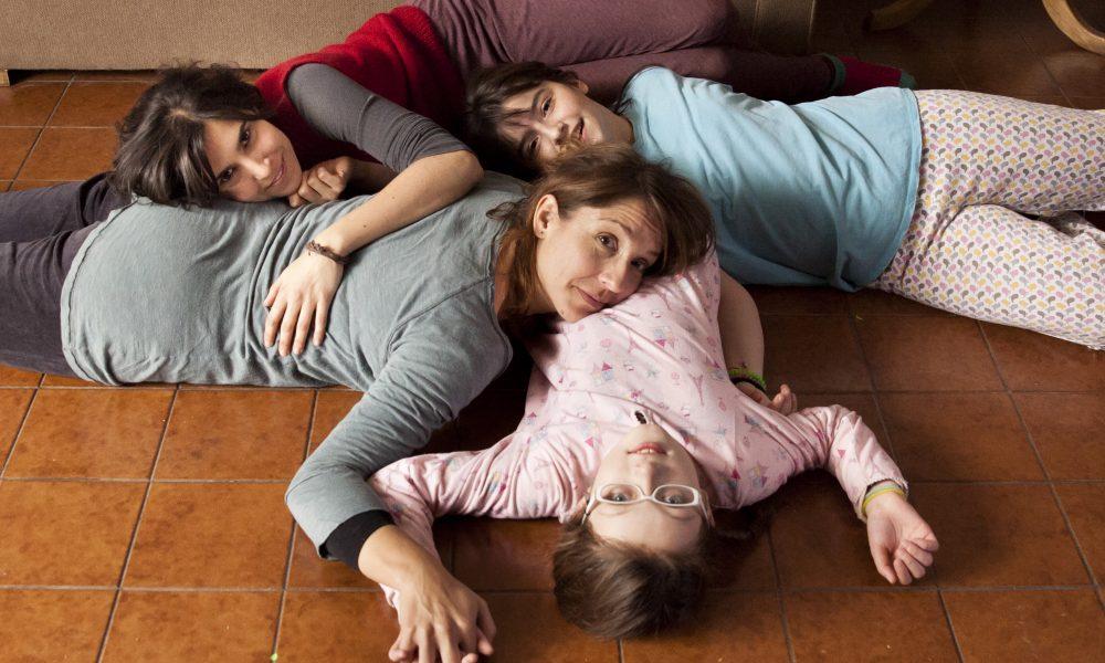 Actresses from left to right: Agustina Muñoz, Mariana Loyola, Julia Lübbert, Emilia Ossandón
