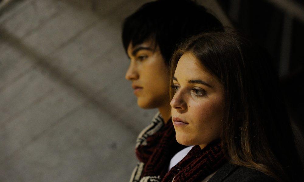 """SET DEL FILM """"UN  BACIO"""" DI IVAN COTRONEO. NELLA FOTO  RIMAU  GRILLO RITZBERGER E VALENTINA ROMANI. FOTO DI GIANNI FIORITO"""