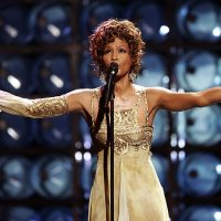 LAS VEGAS, NV ? SEPTEMBER 15:  Singer Whitney Houston is seen performing on stage during the 2004 World Music Awards at the Thomas and Mack Center on September 15, 2004 in Las Vegas, Nevada.  (Photo by Pascal Le Segretain/Getty Images)